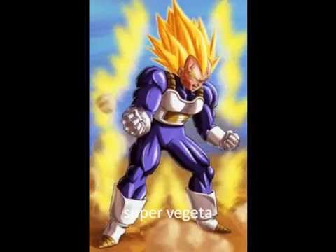 todas las transformaciones de vegeta