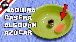 getlinkyoutube.com-Máquina de Algodón de Azúcar Casera - Experimentos Caseros - LlegaExperimentos