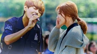 getlinkyoutube.com-BTS V (Kim Taehyung) and Apink Jung Eunji 2016