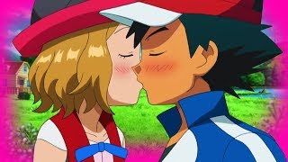 getlinkyoutube.com-ASH X SERENA KISS - AMOURSHIPPING ❤️💚💙  「POKEMON XY AMV」
