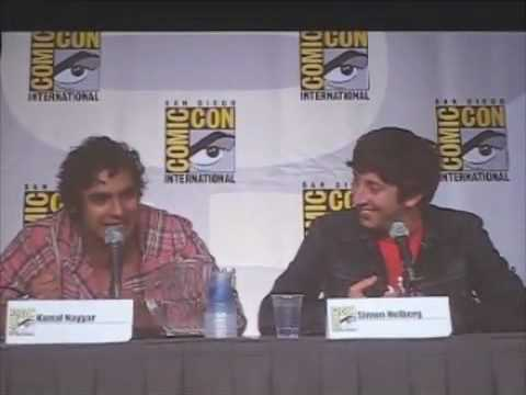 Big Bang Theory panel Comic Con 2010 part 2