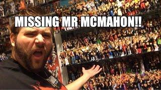 getlinkyoutube.com-Grim's WWE COLLECTION UPDATE! MATTEL Wrestling Figures! Missing Mr. McMahon ELITE! Help Grim HUNT!