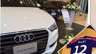 getlinkyoutube.com-Audi A3 Sedan 1.4 TFSIの展示車を見てきたよ(アウディ A3 セダン)