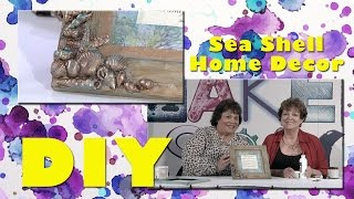 All-Star Designer Winter Series: Sea Shell Home Decor