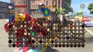getlinkyoutube.com-Lego Marvel Superheros Cheatcodes!
