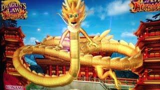 getlinkyoutube.com-Dragon Law Hot Boost Slot Mega Win -Konami