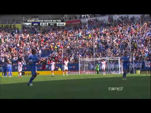 HIGHLIGHTS: Montreal Impact vs D.C. United, August 25, 2012