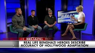 getlinkyoutube.com-See the Heroes of Benghazi Open Up About the New '13 Hours' Film