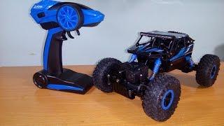 getlinkyoutube.com-[Unboxing] & TEST HB - P1803B 1/18 4WD Rock Crawler RC Car by Banggood