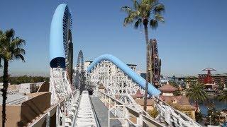 getlinkyoutube.com-California Screamin' (Front Seat : HD POV) - Disney California Adventure Park