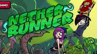 getlinkyoutube.com-Nether Runner Full Gameplay Walkthrough