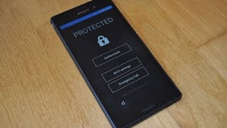My Xperia Theft Protection brings bootloader level security