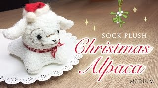 getlinkyoutube.com-DIY Sock Doll - Baby Alpaca Sewing Tutorial