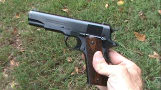 getlinkyoutube.com-1911 WWI Colt Replica (Close-Up)