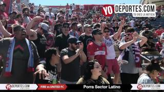 Sector Latino Chicago Fire vs Atlanta United FC