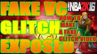 getlinkyoutube.com-NBA 2K16 FAKE VC GLITCH VIDEOS EXPOSED