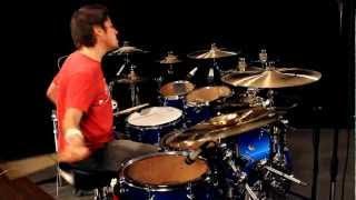 getlinkyoutube.com-Cobus - Linkin Park - Faint (Drum Cover)
