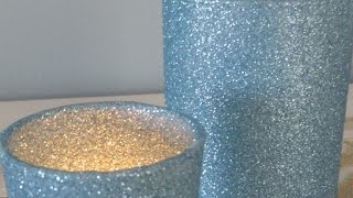 getlinkyoutube.com-Make Sparkly Glitter Candle Holders - DIY Crafts - Guidecentral