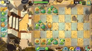 getlinkyoutube.com-Plants vs Zombies 2 Antiguo Egipto Dia 8,9,10