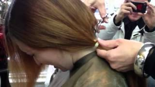 getlinkyoutube.com-Jane's navy hair cut