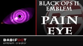 getlinkyoutube.com-COD Black Ops 2 Emblem Tutorial - Pain/Nagato Eye Rinnegan