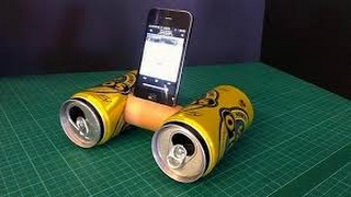 How to make speakers at home using Plastic Bottle - Easy life hacks width=