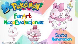 getlinkyoutube.com-Pokémon - Mega Evoluciones Sexta Generación (FanArt y Oficiales)