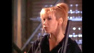 getlinkyoutube.com-Martial Arts Action Cynthia Rothrock Fight Scenes from Sworn To Justice 1996