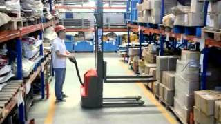 getlinkyoutube.com-apeface Electric Pallet Stacker PBD