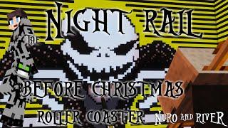 getlinkyoutube.com-The Night Rail Before Christmas: A Nightmare Before ChristmasMinecraft Roller Coaster