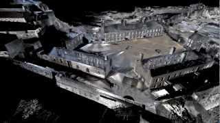getlinkyoutube.com-Leica P20 3D laser Scan - Castle Laser Scan
