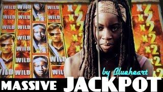 "getlinkyoutube.com-★★MASSIVE JACKPOT★★ ""AS IT HAPPENS"" The WALKING DEAD 2 slot machine JACKPOT HANDPAY WIN!"