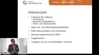 eHälsa i Västerbotten - Magnus Rudehäll