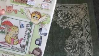 getlinkyoutube.com-Покупки для вышивки из Леонардо и Модного рукоделия:)