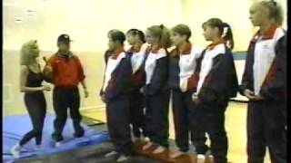 getlinkyoutube.com-Magnificent Seven US Olympic Gymnasts on Regis and Kathie Lee in July 1997