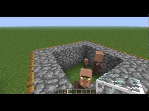 Minecraft 1.7.10 + Lower Versions - Breeding Villager Tutorial - DavidiansLair