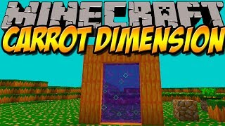 KAROTTEN DIMENSION | Carrot Dimension Mod | Minecraft Mod Review [DEUTSCH]