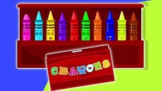 getlinkyoutube.com-Dix dans le lit | Crayons chanson | Comptines pour enfants | Crayons Ten in the Bed Nursery Rhyme