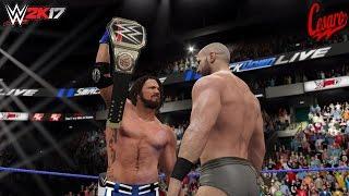 getlinkyoutube.com-WWE 2K17 Story: THE OPPORTUNITY (Cesaro traded to Smackdown Live) -Smackdown Live 2016 Custom Story