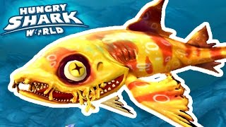 NEW SHARK WOBBEGONG!!! - Hungry Shark World | Ep 37 HD