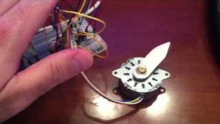 getlinkyoutube.com-Arduino with Stepper Motor آردوينو مع موتور من نوع ستيبر