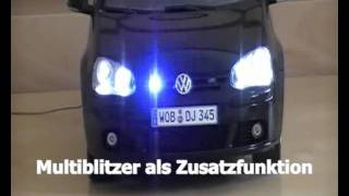 getlinkyoutube.com-Golf 5 Zivilpolizei mit funtronix Lichtassistent mit Untertiteln
