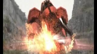 getlinkyoutube.com-Kamen Rider W, Decade, OOO & Core - Search  and Destroy