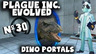 Plague Inc Gameplay Part 30 - Dino Portals! with Yogscast Panda