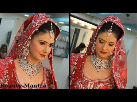 Indian Bridal Makeup For Zircon Work Outfit