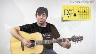Aprende A Horse With No Name Canción con dos acordes para principiantes Super fácil Guitarra