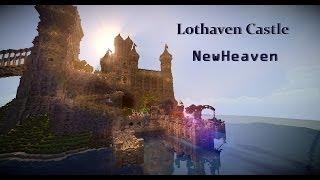 getlinkyoutube.com-NewHeaven | Minecraft Timelapse Ep. 4 | Lothaven Castle