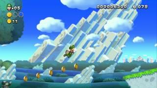 New Super Luigi U - 1-1. Waddlewing Warning! [ALL STAR COINS]