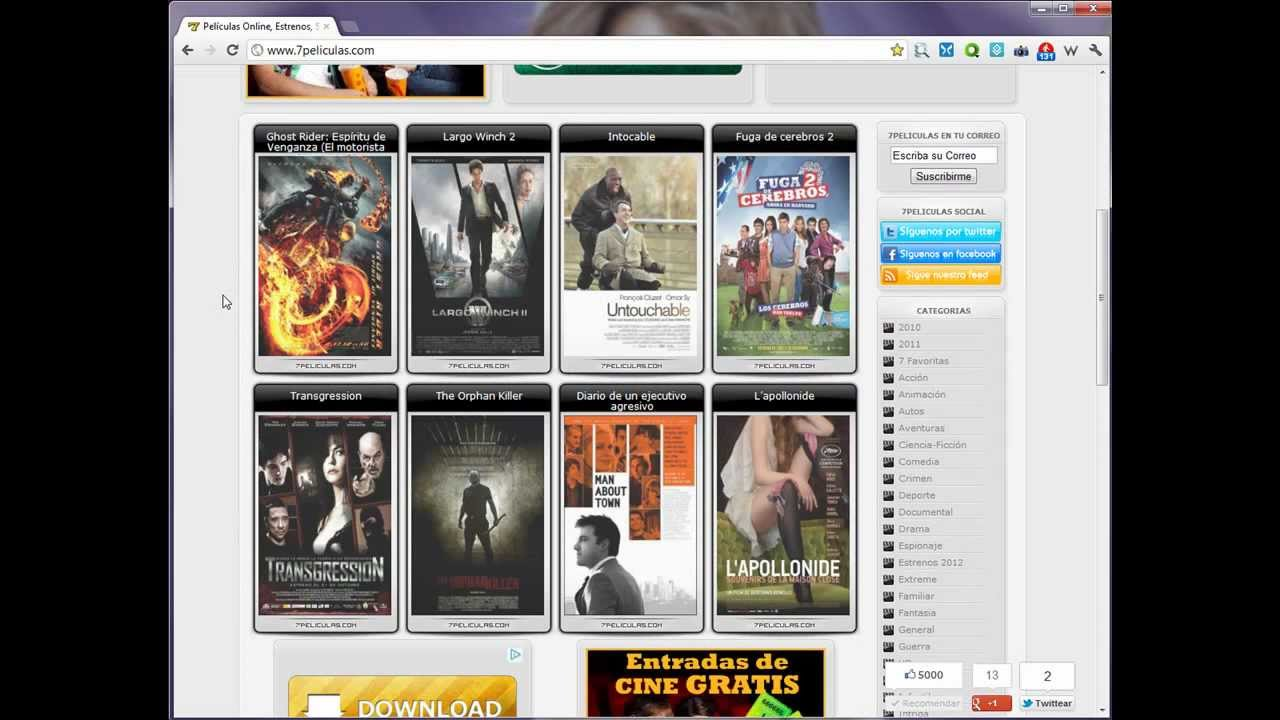 ver peliculas gratis sin descargar completas en espanol