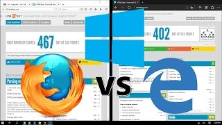 getlinkyoutube.com-Browser Battle : Which is Best Browser - Microsoft EDGE vs Mozilla FIREFOX - Browser Benchmark Test